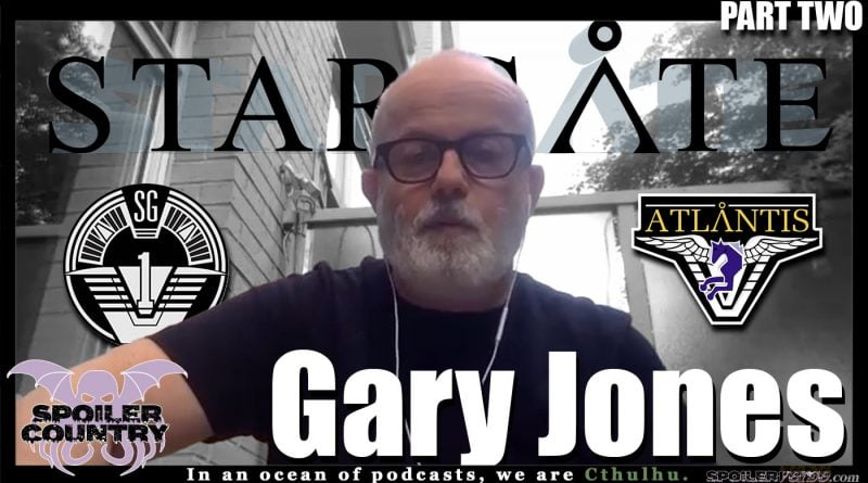 Gary Jones – Chief Mst Sgt. Walter Harriman from Stargate! Part Two!
