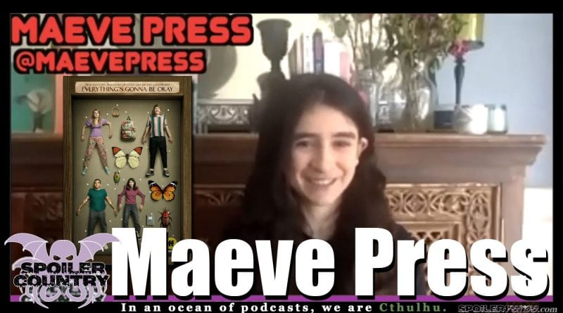 Maeve Press from Everything's Gonna be Okay chats with us!