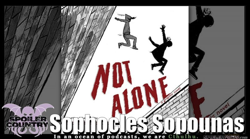 Sophocles Sopounas talks Not Alone from BHC Press!