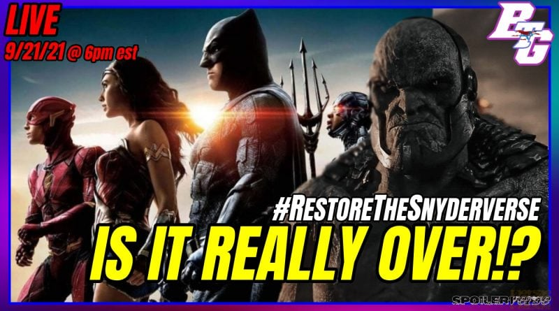 LIVE 9/21/21: How to Continue the SNYDERVERSE
