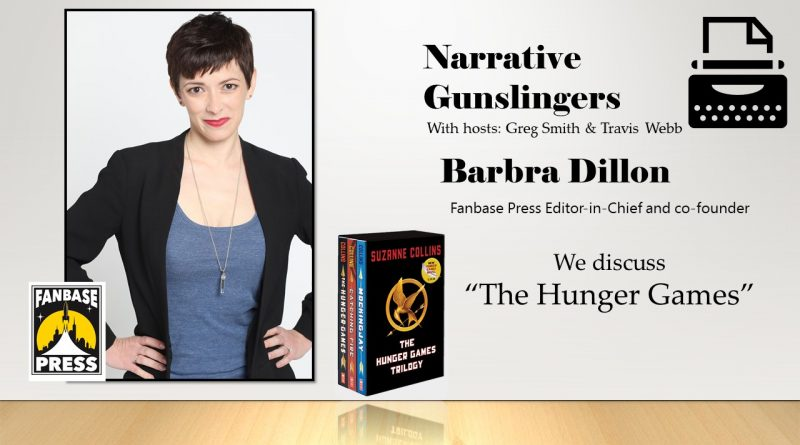 """Fanbase Press Editor-in-chief and co-founder Barbra Dillon has a one on one discussion about """"The Hunger Games"""" with Travis."""