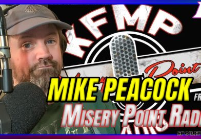 Mike Peacock, Host of Misery Point Radio Joins Us