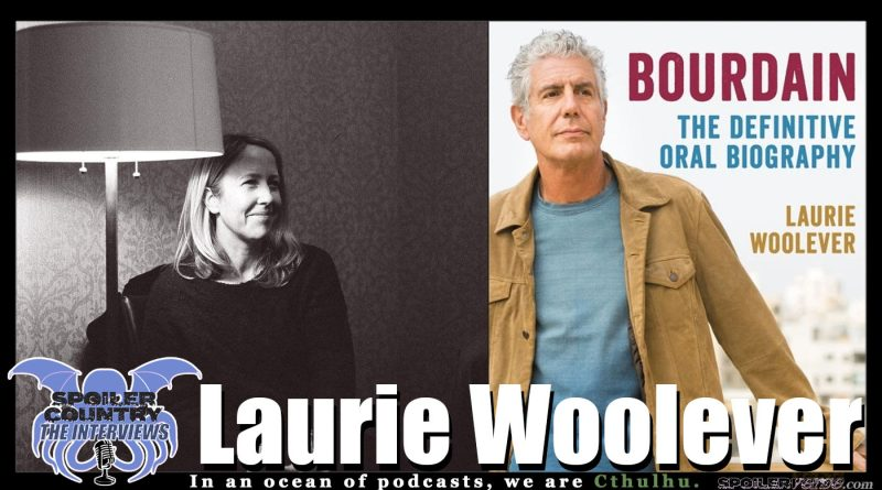 Laurie Woolever talks Bourdain: The Definitive Oral Biography