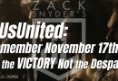 #UsUnited: Remember November 17th for the VICTORY Not the Despair