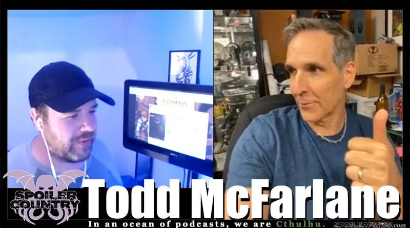 Todd McFarlane chats it up about Spawn and more!