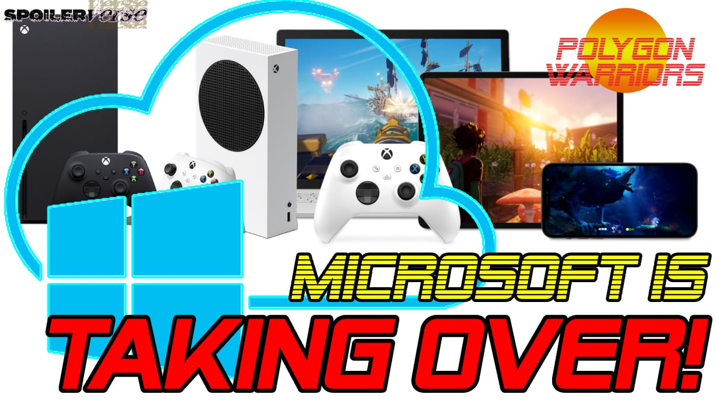 MICROSOFT IS TAKING OVER THE GAMING WORLD!