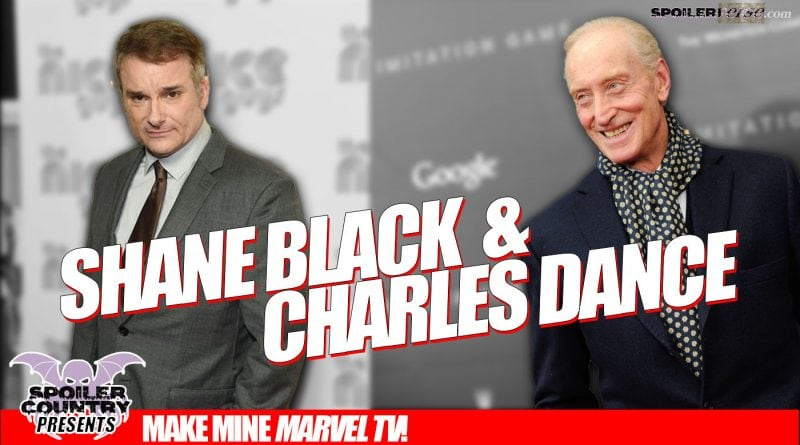 Shane Black and Charles Dance – Do they have anything in common?