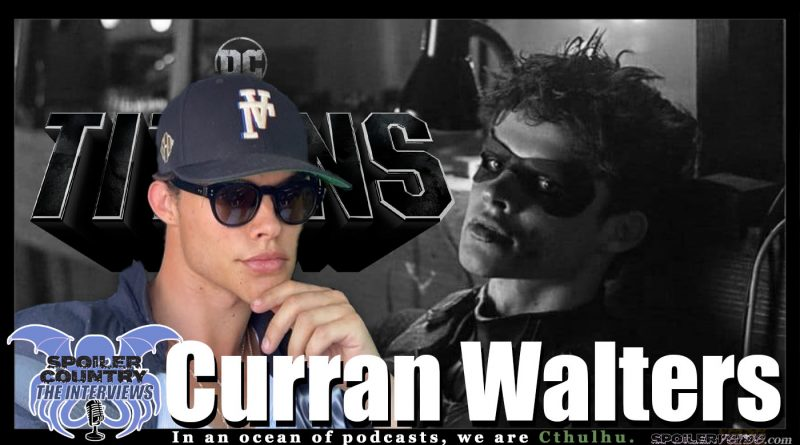 Curran Walters – Jason Todd / The Red Hood on DC's Titans!