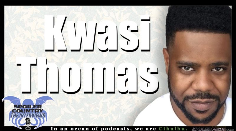 Kwasi Thomas – Snowpiercer and Stand-Up Comedy!