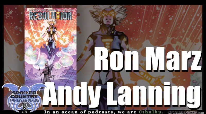 Ron Marz and Any Lanning talk Resolution!